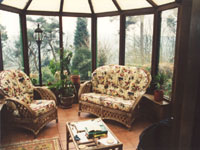 Interior Oak Conservatory