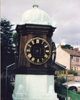 Teak Turret Clock